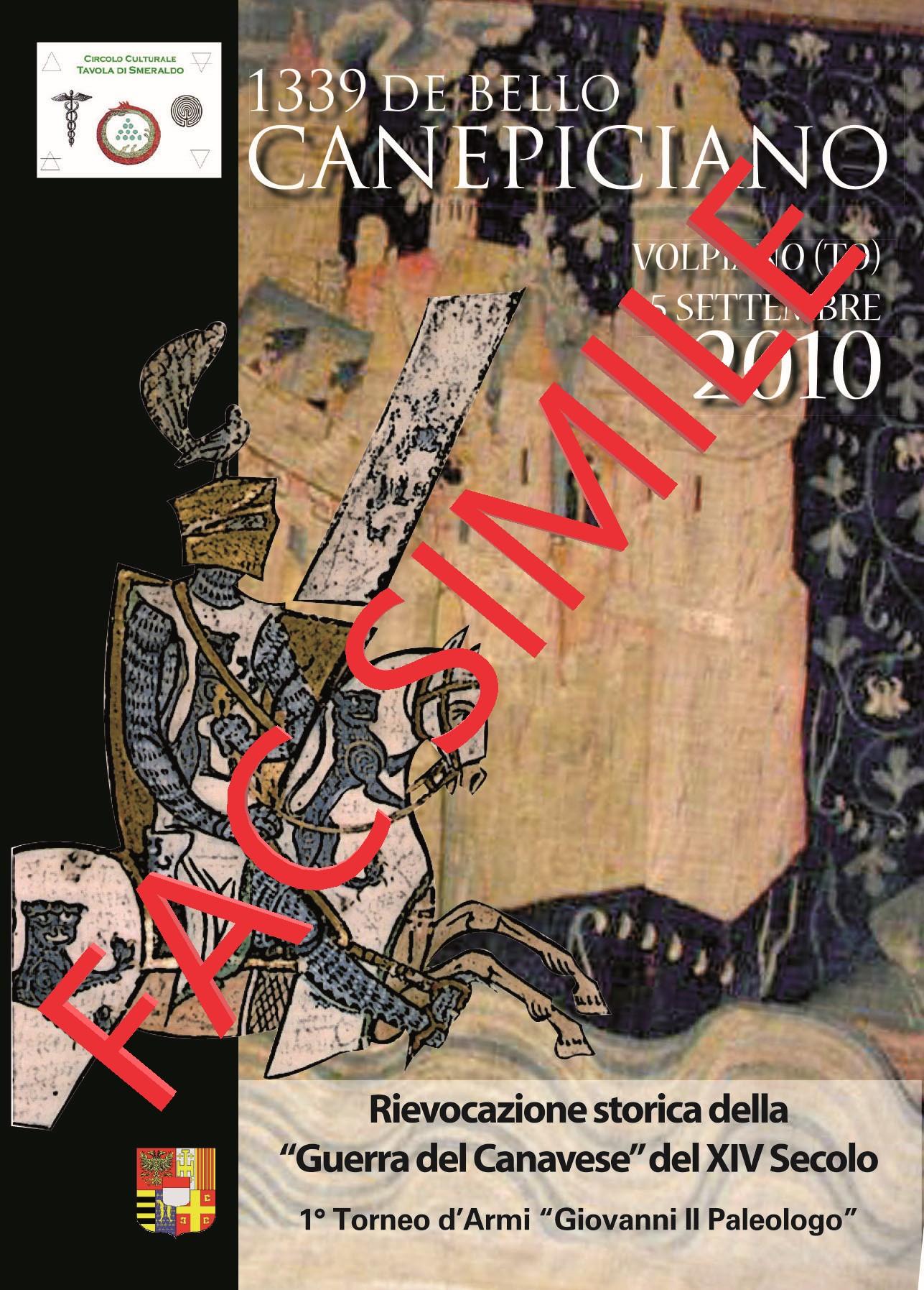 cartolina 2010 - FACSIMILE